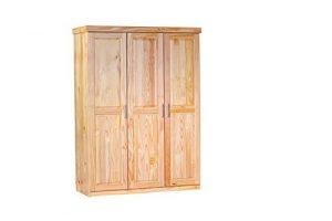 Holz Kleiderschrank, Kleiderschrank aus Holz, Massivholz Kleiderschrank