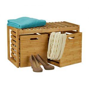 Flurkommode Holz , Sitzkommode Holz, Holz Sitzkommode mit Schuhregal, Holz Schuhregal, Holz Flur Anrichte