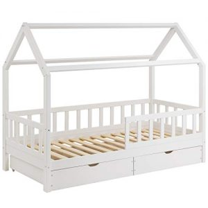 Kinderbett mit Holz, Kinderbett aus Holz, Holz Kinderbett