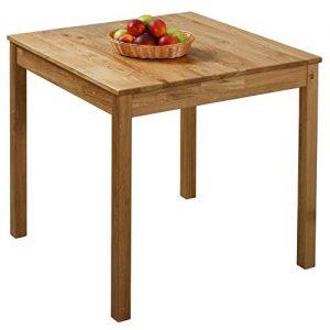 Küchentisch aus Massivholz, Holz Küchentisch,Esstisch aus Holz, Küchentisch Holz massiv