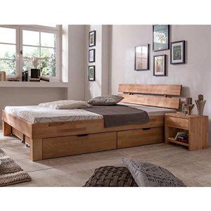 Holzbett, Massivholz Bett, Bett aus Holz, Bettgestell aus Holz, Massivholz Bettgestell